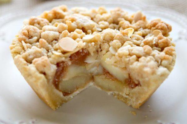 Riquísimas Canastitas Dulces de Manzana