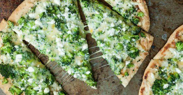 Súper Rápida y Riquísima Pizza de Brócoli