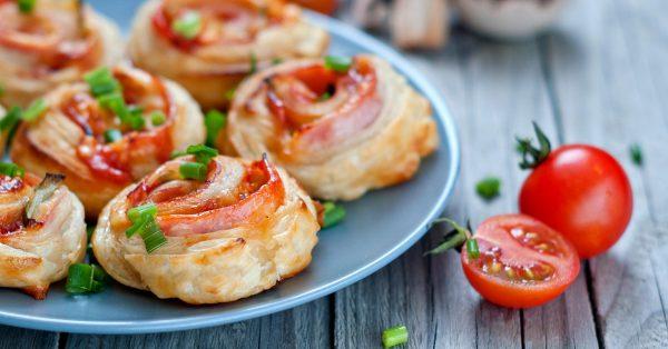 Rollitos de Jamón y Queso – Excelente aperitivo