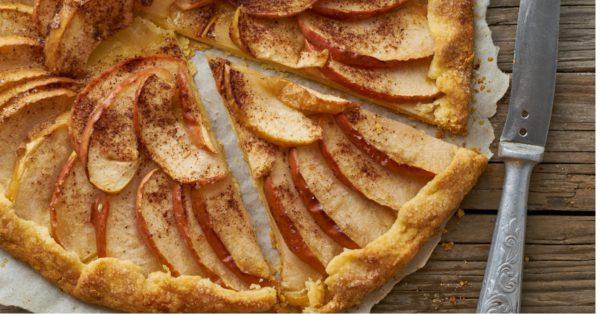 Tarta de Manzana y Canela al Estilo Francés